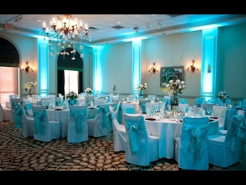 blue wedding decoration ideas. Baby blue Wedding Decoration Ideas  YouTube