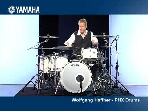 Wolfgang Haffner and the Yamaha PHX Drums