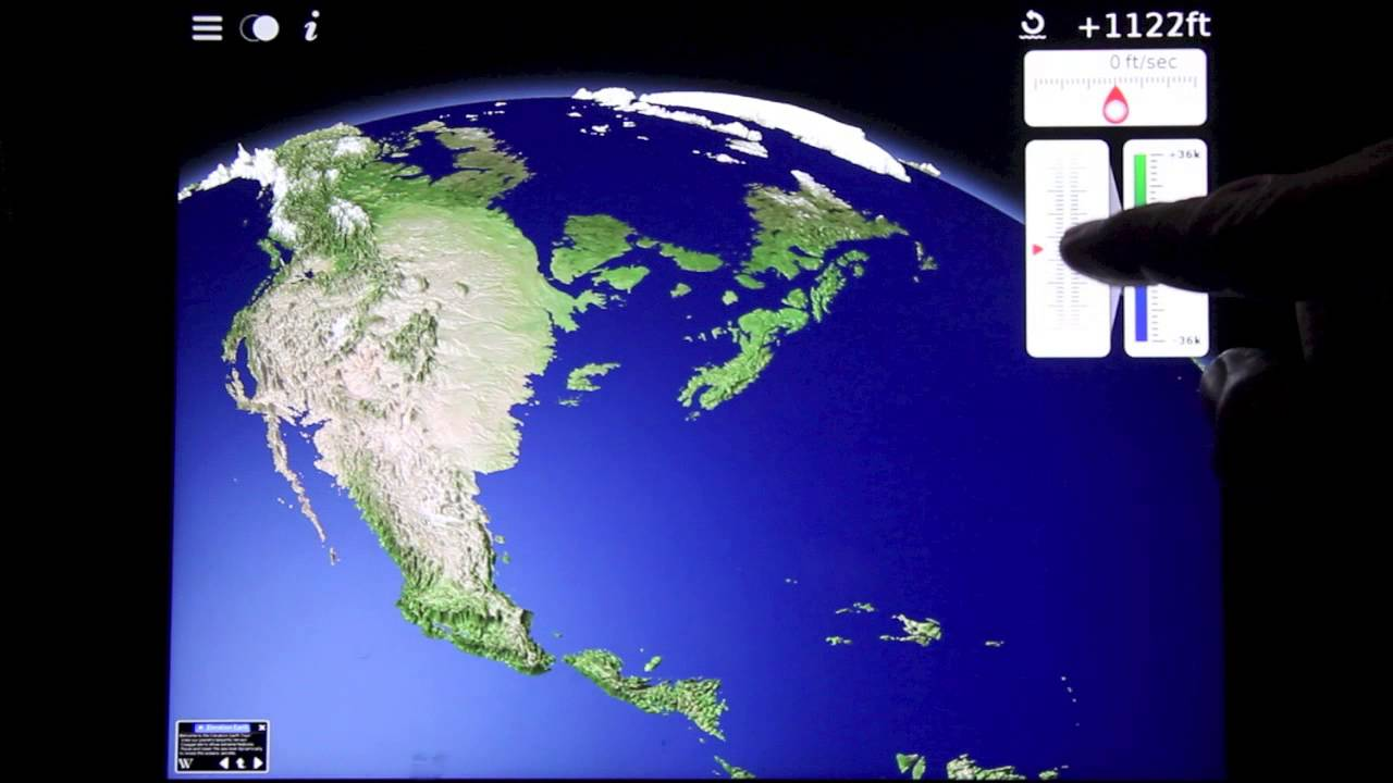 Elevation Earth App For Apple And Android Devices YouTube - How to find elevation on google earth app