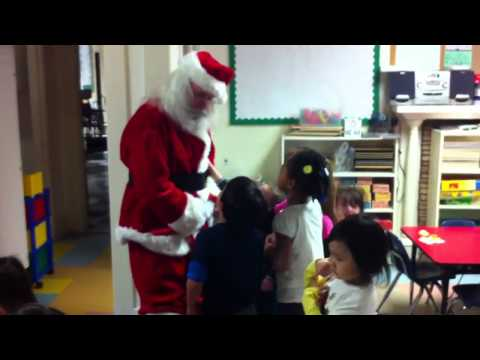 Foothill Preschool Santa Visit p2