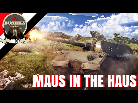 The Maus in the Haus World of Tanks Blitz