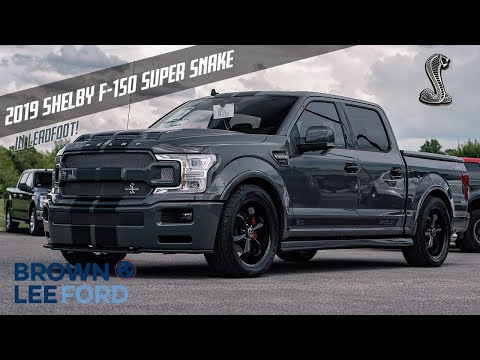 """FIRST LOOK 2019 Shelby Super Snake F-150 755 Horsepower 