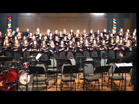 The StarSpangled Banner Arranged by Matthew Harrison  2018 CT AllState Treble Choir