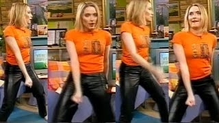 Lisa Rogers in Leather Trousers 4 | CleverTrevor101