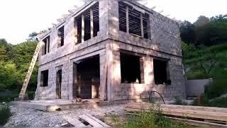 Строим Дом из Арболит Блока, Строительство домов из Арболитовых блоков, Арболит Юг Строй, арболит