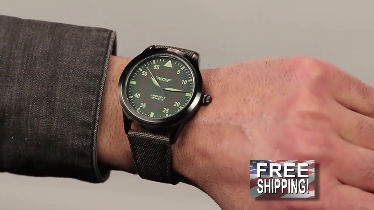 time traveller youtube aviator collection watches world watch