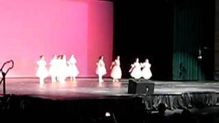 """Lauren dancing in """"Ballerina Interlude"""""""