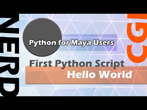 Getting Started With Simple Python Scripting in Maya