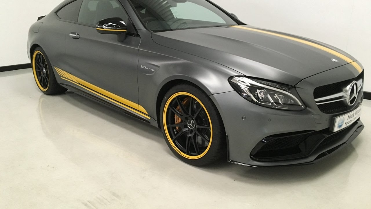for sale mercedes c63 amg s edition 1 2016 delivery mileage nick whale sports cars youtube. Black Bedroom Furniture Sets. Home Design Ideas
