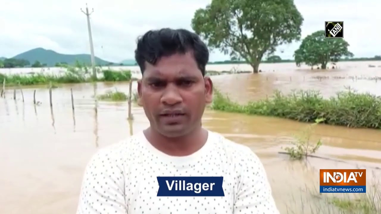 Flood like situation in villages of Odisha`s Dhenkanal following downpour