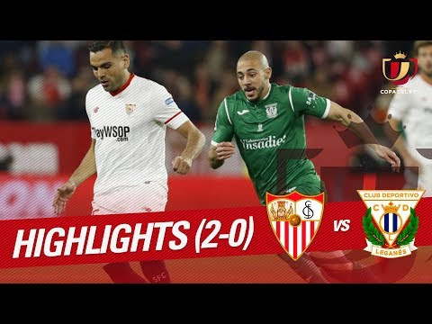 Resumen de Sevilla FC vs CD Leganés (2-0)