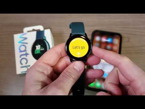 Samsung Galaxy Watch Active: Setup And Use With An IPhone