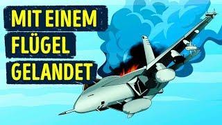 Ein Flugzeug Verlor Einen Flügel Aber Der Pilot Sollte Diesen Tag Überleben