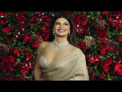 Jacqueline Fernandez At Deepika Padukone And Ranveer Singh Wedding Reception