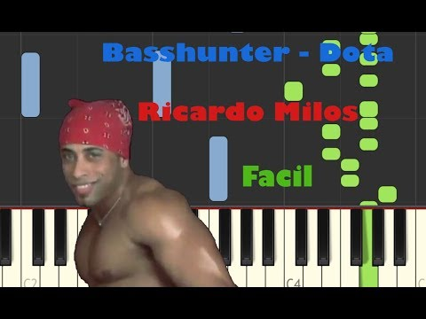 Repeat Piano Basshunter - Dota by rohane - You2Repeat