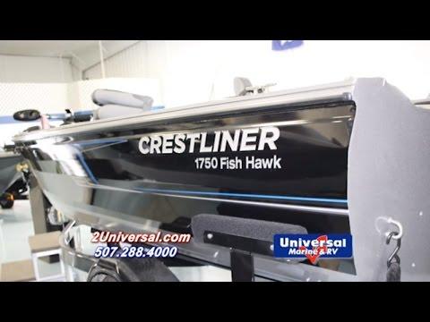 2016 Crestliner 1750 Fish Hawk Fishing Boat For Sale Rochester MN