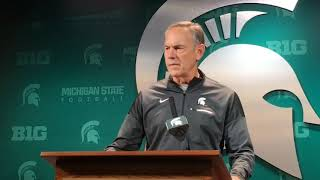 "Mark Dantonio is ""enthused"" about this year's Michigan-Michigan State matchup"