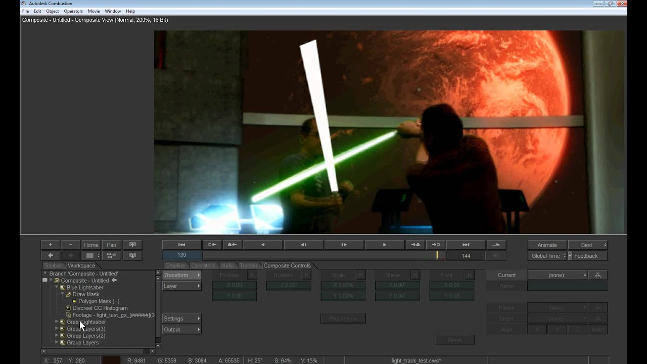 how to make lightsabers in video autodesk combustion youtube rh youtube com User Manual Icon Owner's Manual