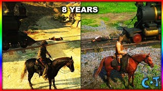 Red Dead Redemption 2 vs Red Dead Redemption Gameplay & Graphics (GOTY 2018)