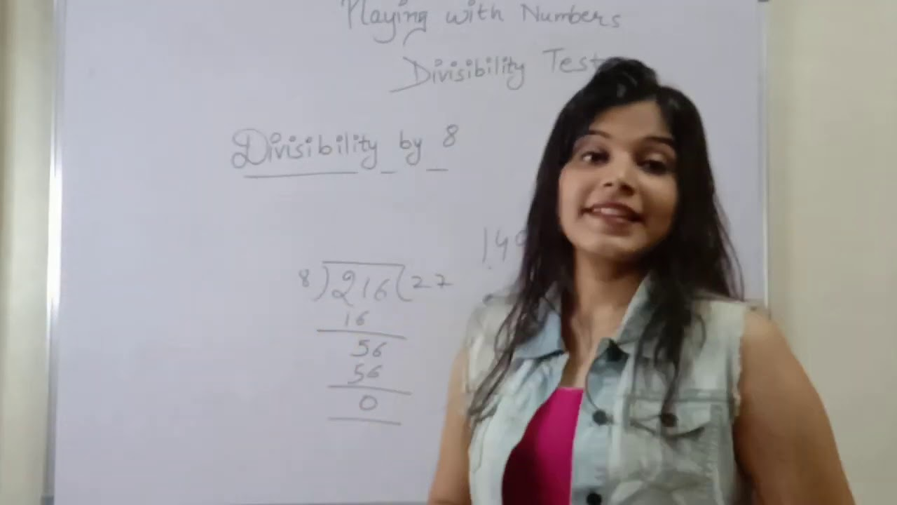 """Divisibility  Rule "" for class 4,5,6,& 7 math ncert"