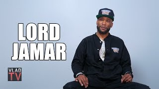 Lord Jamar on White Rappers Using Tattoos Instead of Jewelry to Stand Out (Part 5)