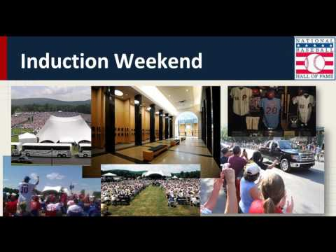 2017 Baseball Road Trips Hall of Fame Induction Weekend