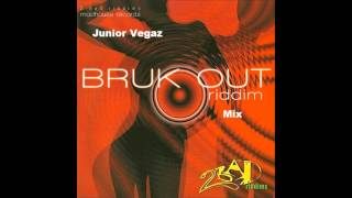 Junior Vegaz - Bruck Out Riddim Mix (1998) (2Bad Records) (ViNYL)