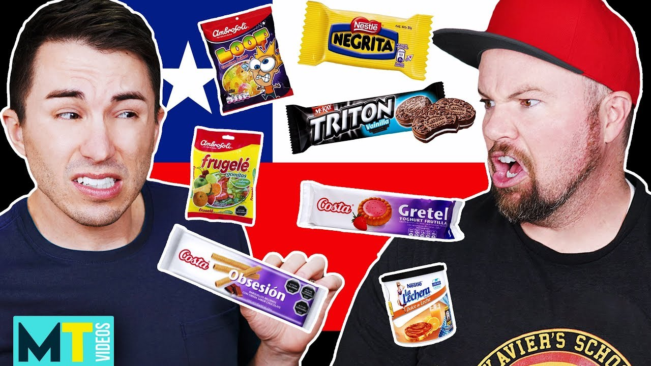 Download Americans Try Weird Chilean Treats for the First Time - Taste Test