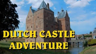Dutch Castle Adventure - Slot Loevestein - Supertwins Travel TV