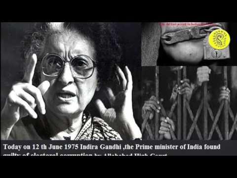 National Emergency India 1975