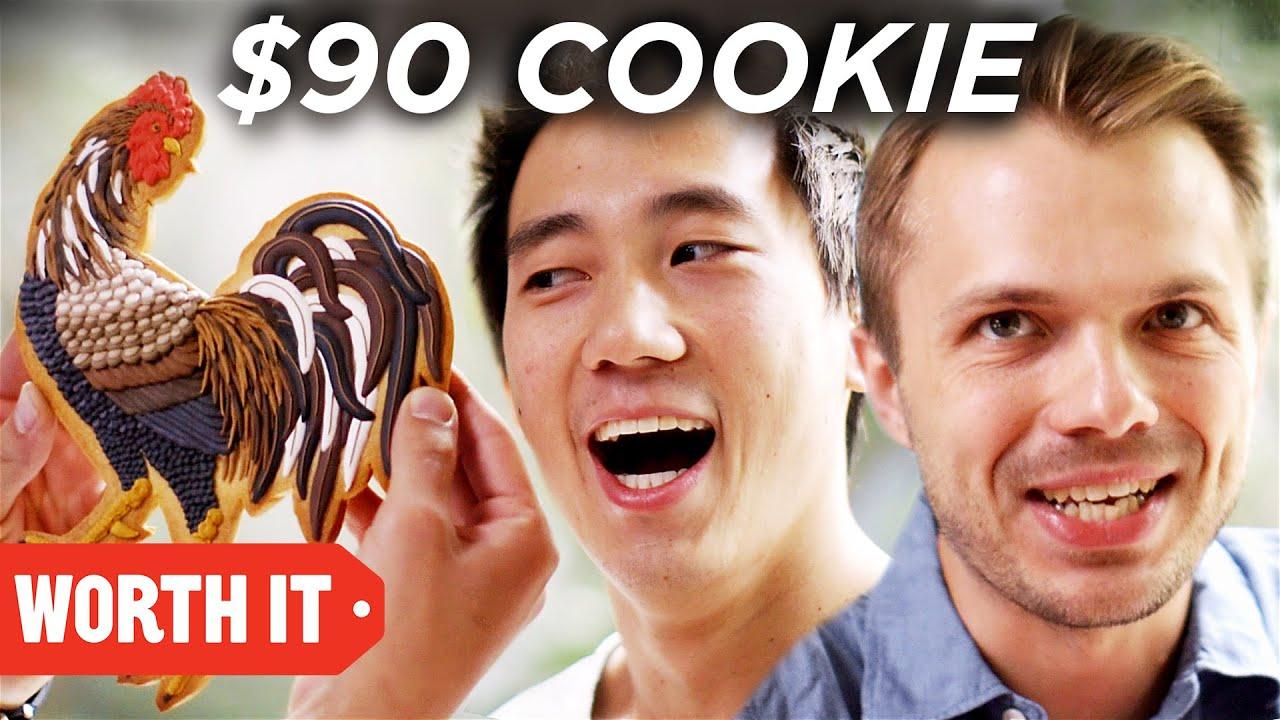 $1 Cookie Vs. $90 Cookie image