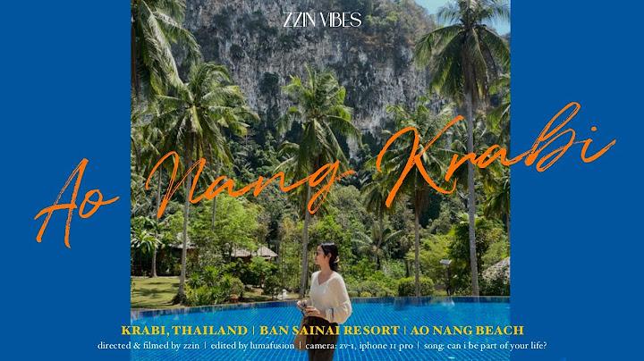 백수의 태국살이🇹🇭 | 끄라비 여행 | Ep.5 To Krabi 끄라비로 출바알⛴ [Ban Sainai Resort 반사이나이 리조트/Ao Nang beach 아오낭 해변]