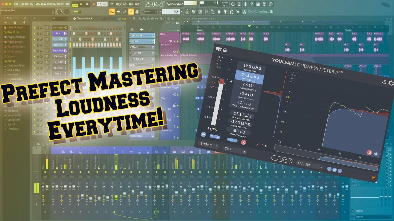 Get the perfect loudness for your beats and songs every time