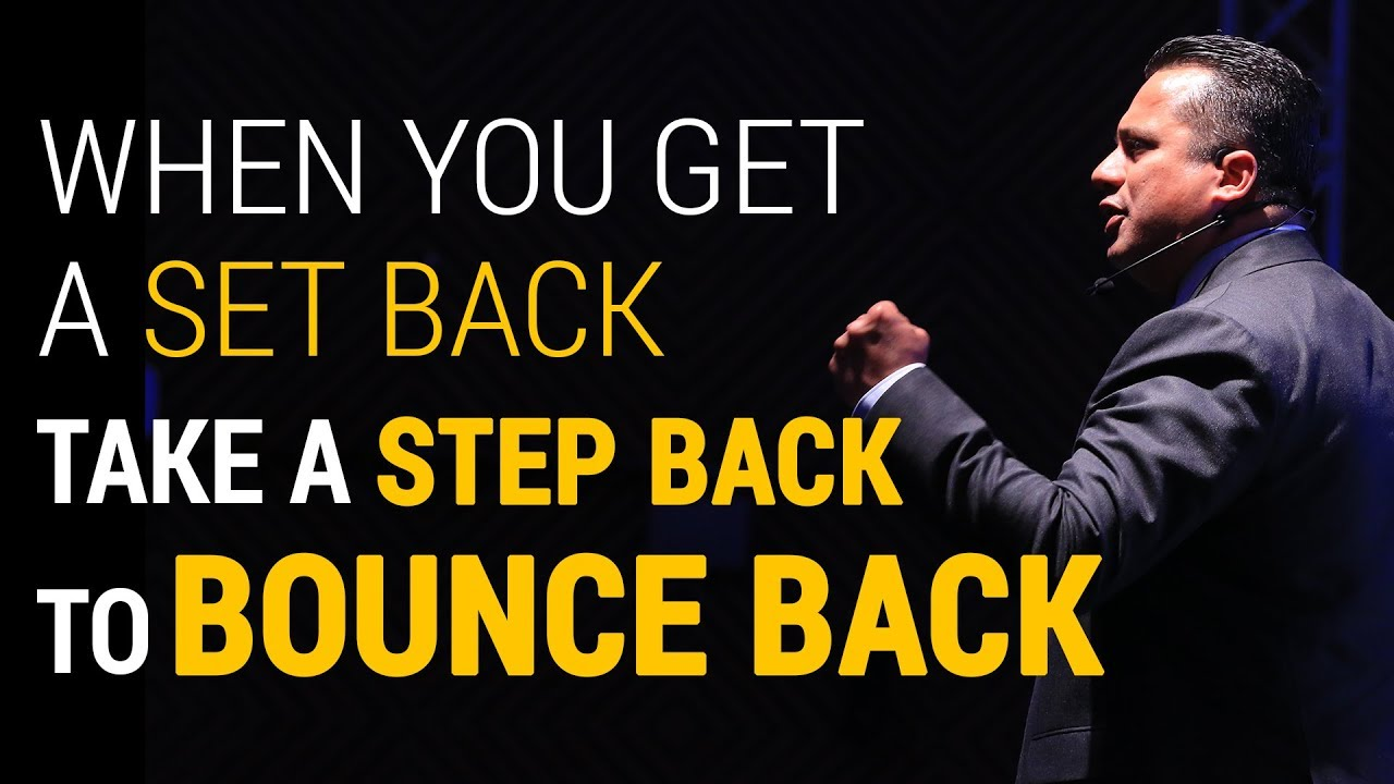 When You Get A Set Back, Take A Step Back To Bounce Back | Dr Vivek Bindra