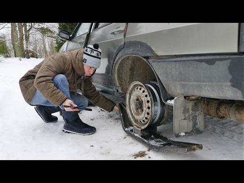 Ставим лыжи на ВАЗ-21099!