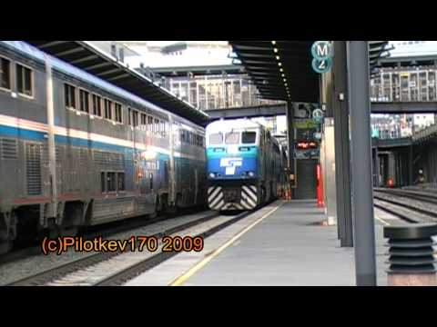 Sounder Train #1707 at Seattle©