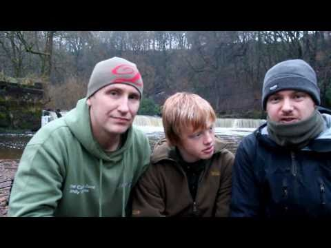 Winter Carp Fishing On The River Goyt In Stockport
