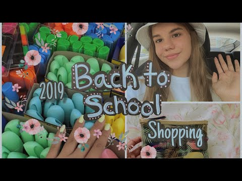 BACK TO SCHOOL 2019/ шоппинг, канцелярия