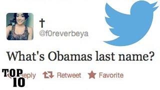 Top 10 Dumbest Tweets - Part 9