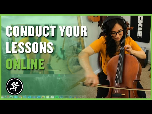 How To Conduct Remote Online Lessons - Mackie ProFXv3