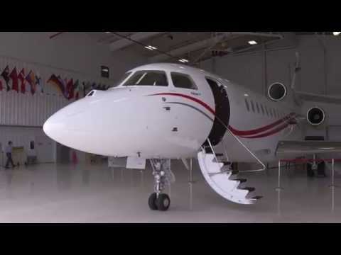 How Dassault Puts the VIP Touch Inside the Falcon Jet Cabins – AINtv