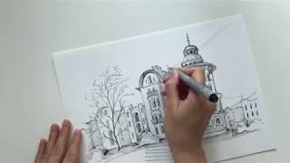 Урок рисования карандашом