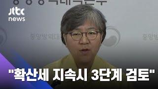 """방역 중대 고비…""""확산세 지속 경우 3단계 격상 검토"""" / JTBC 사건반장"""