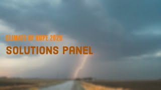 Climate of Hope 2020 - Solutions Panel