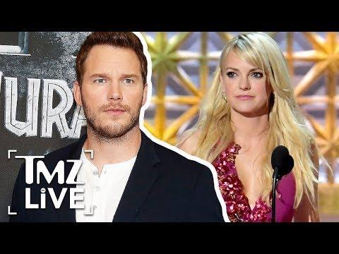 Chris Pratt Talks Anna Faris   TMZ Live