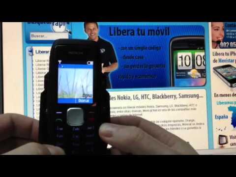 Liberar Nokia 1800, desbloqueo por código del móvil