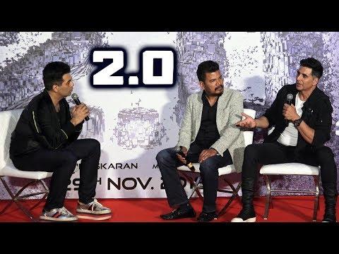 UNCUT - 2.0 Movie Press Conference In Mumbai With Akshay Kumar, Director Shankar And Karan Johar