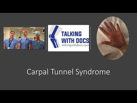 Carpal Tunnel Syndrome - Diagnosis and Treatment Options