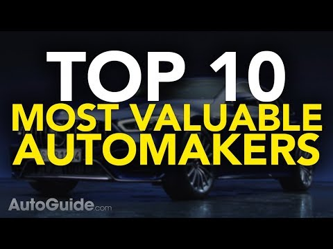 Top 10 Most Valuable Car Brands in the World