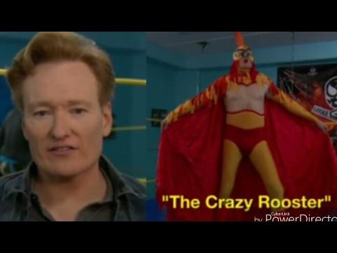 Conan O'Brien Trains To Be A Luchador